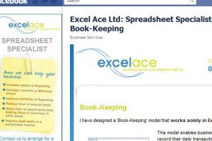 Excel Ace Ltd - Social Media Screen Shot