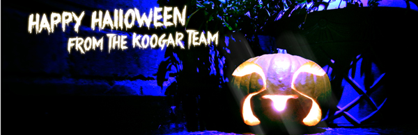 Happy Halloween from the Koogar Team!