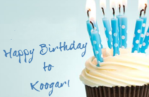 Happy Birthday 7th to Koogar!