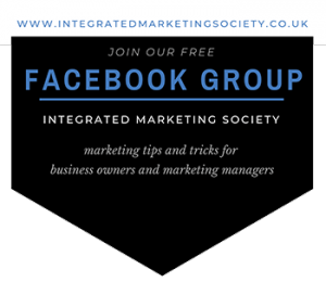 Join our Free Facebook Group - The Integrated Marketing Society
